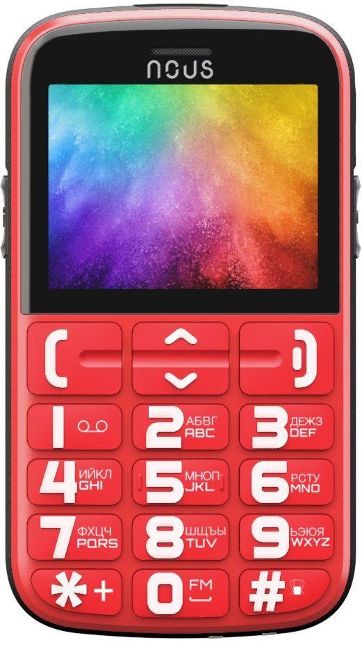 Купить Мобильный телефон Nous Helper Red
