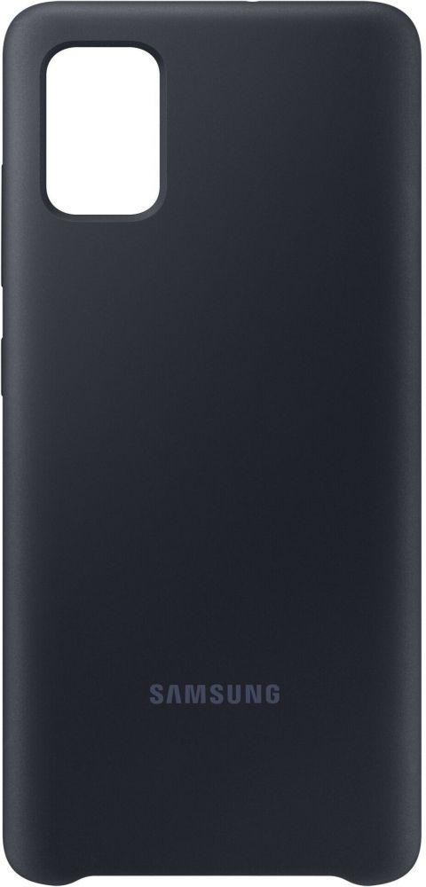 Накладка Samsung Silicone Cover для Samsung Galaxy A51/А515 (EF-PA515TBEGRU) Black