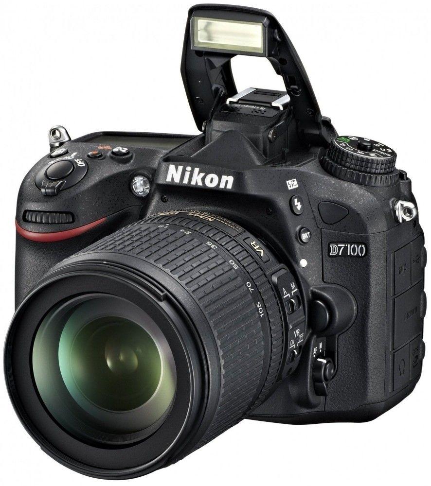 Купить Фотоаппарат Nikon D7100 Kit 18-105VR (VBA360K001)
