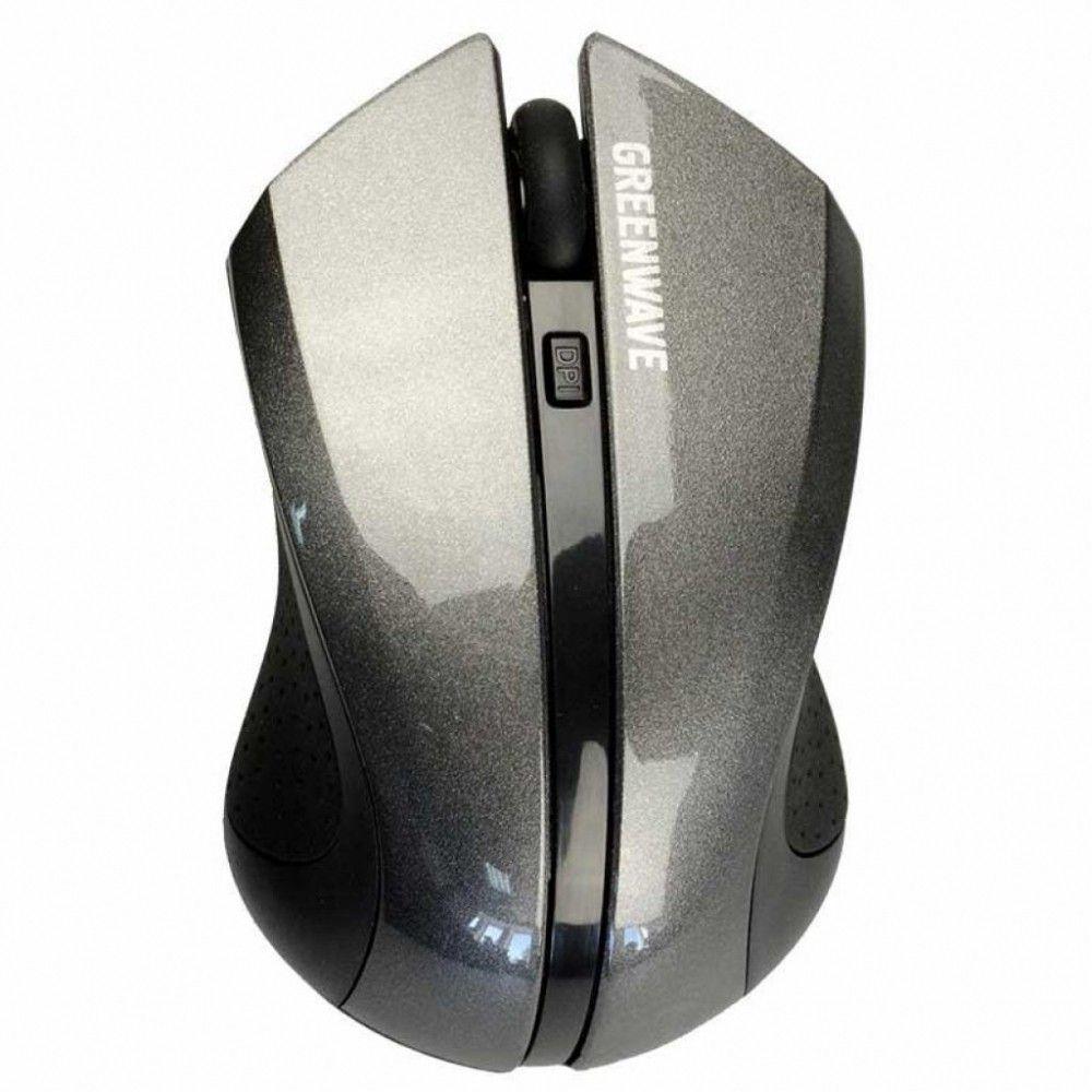 Купить Мышь Greenwave Fiumicino Black-Gray USB