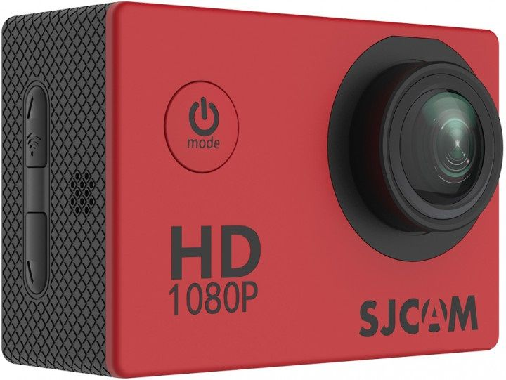 Купить Экшн-камера SJCAM SJ4000 Red