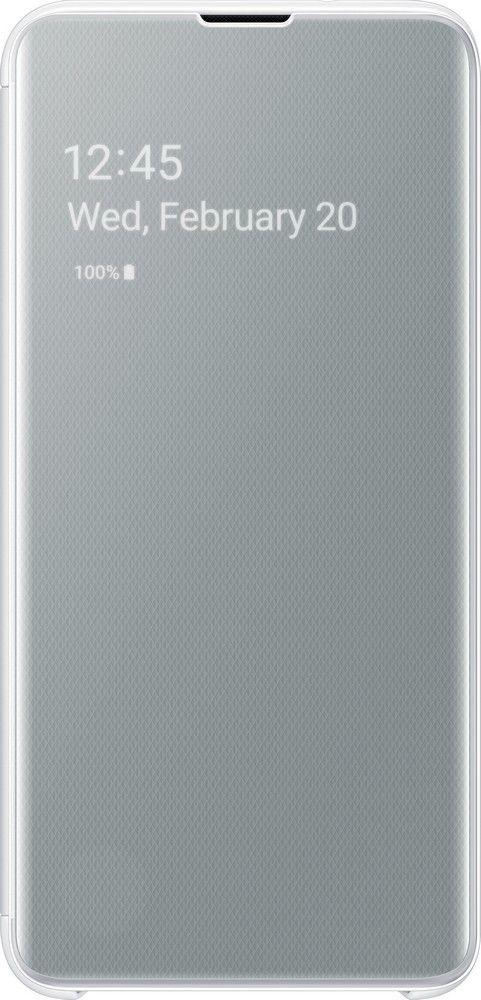 Чехол-книжка Samsung Clear View Cover для Samsung Galaxy S10e (EF-ZG970CWEGRU) White от Територія твоєї техніки