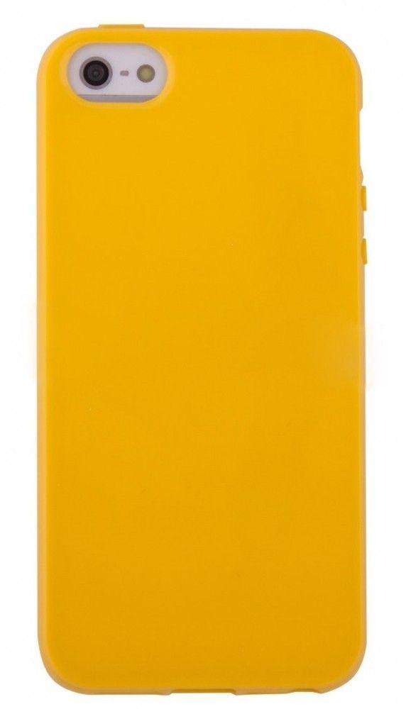 Купить Накладка TPU Original iPhone 5 Yellow, Other
