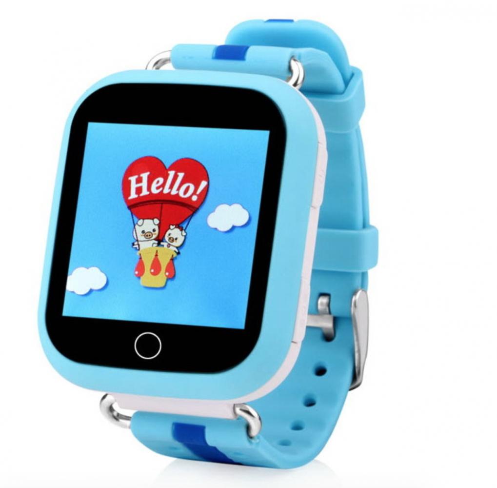 Детские умные часы с GPS-трекером Motto TD-10 (Q150) Blue  - купить со скидкой