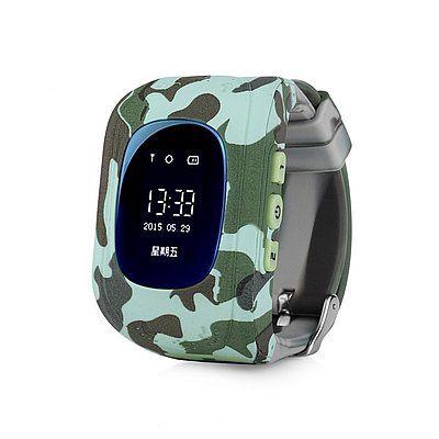 Купить Детские умные часы с GPS-трекером Smart Baby Watch GW300 (Q50) Military
