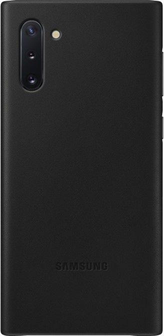 Чехол Samsung Leather Cover для Samsung Galaxy Note 10 (EF-VN970LBEGRU) Black от Територія твоєї техніки