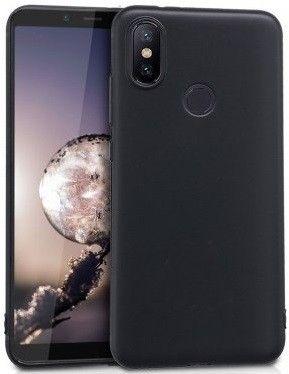 Купить Накладка силиконовая для Xiaomi Mi A2/Mi 6x Black, Other