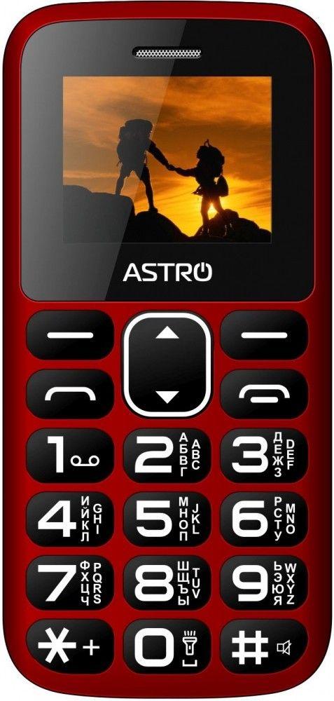 Купить Мобильный телефон Astro A185 Red