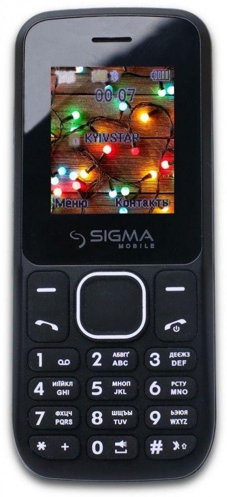 Купить Мобильный телефон Sigma mobile X-style 17 UP Black