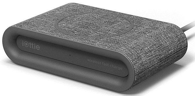 Купить Зарядные устройства, Беспроводное зарядное устройство iOttie iON Wireless Fast Charging Pad Plus (CHWRIO105GR) Grey