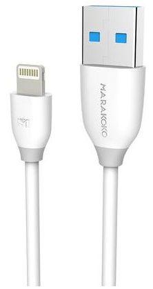 Купить Кабели синхронизации, Кабель USB Marakoko MCB8 lightning 1m 2A White