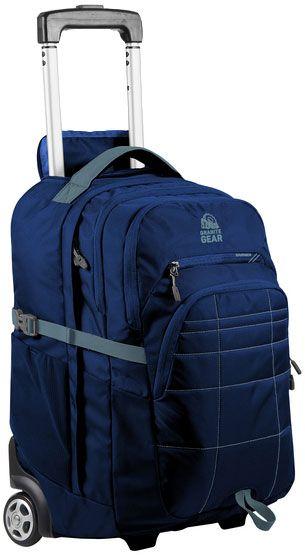 Купить Дорожные сумки и чемоданы, Сумка-рюкзак на колесах Granite Gear Trailster Wheeled 40 Midnight (926089) Blue/Rodin