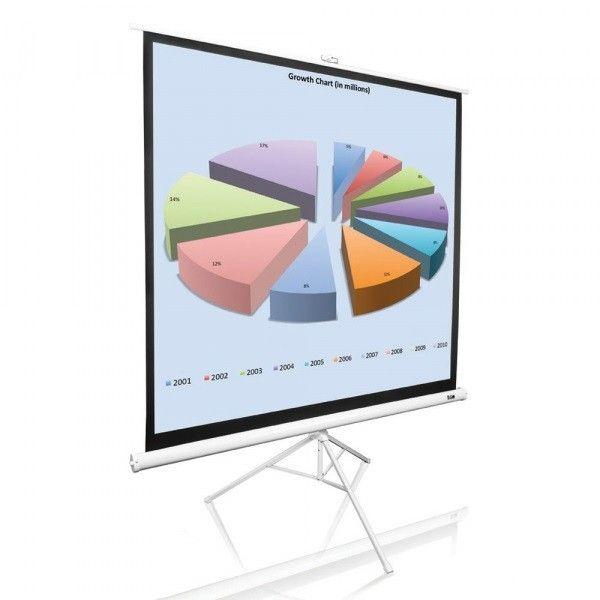 Купить Проекционный напольный экран Elite Screens (T136NWS1) White Case