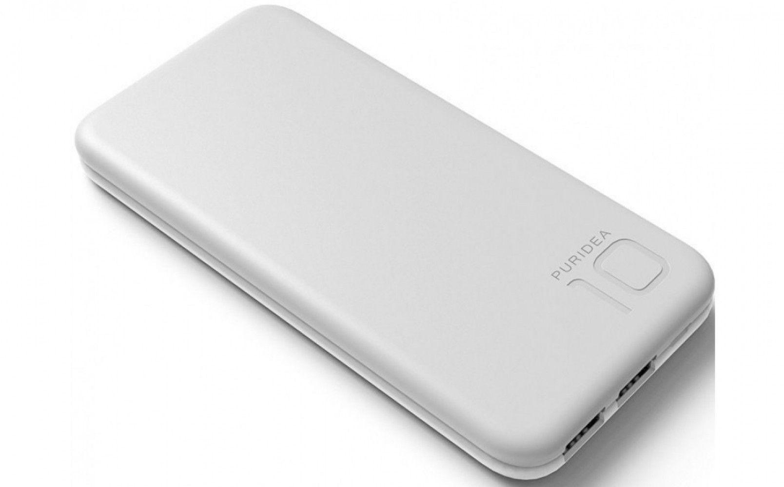 Купить Внешний аккумулятор Puridea S2 10000 mAh Grey/White (S2-Grey White)
