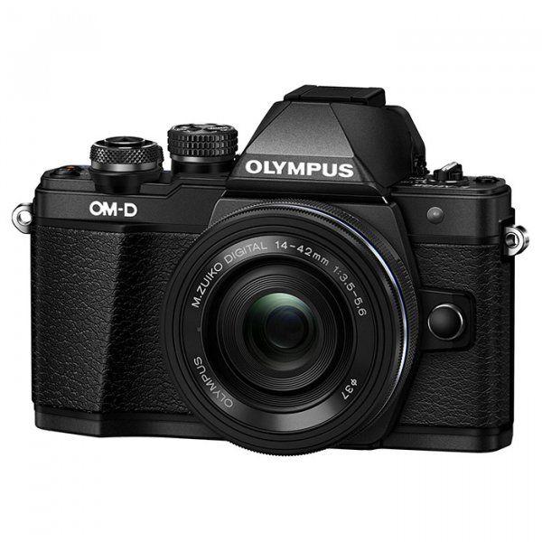 Купить Фотоаппарат Olympus OM-D E-M10 Mark II Pancake Zoom 14-42mm Kit Black (V207052BE000)