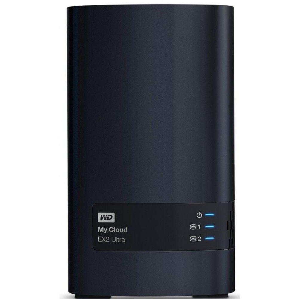 Купить Сетевой накопитель Western Digital My Cloud Expert EX2 Ultra 12TB (WDBVBZ0120JCH-EESN)