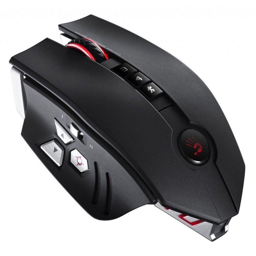 Купить Мыши, Мышь A4Tech Bloody ZL50 USB Black/Silver (4711421917124)