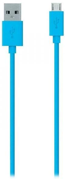 Купить Кабели синхронизации, Кабель Belkin USB 2.0 (AM/microB) MIXIT 2 м (F2CU012bt2M-BLU) Blue
