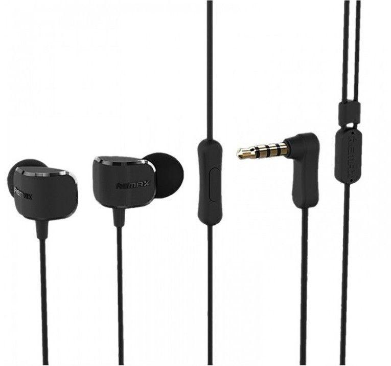 Наушники Remax RM-502 Earphone Black
