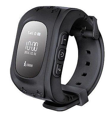 Купить Детские умные часы с GPS-трекером Smart Baby Watch GW300 (Q50) Black
