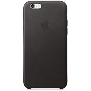 Чехол для Apple iPhone 6s Leather Case Black (MKXW2ZM/A) - 27870