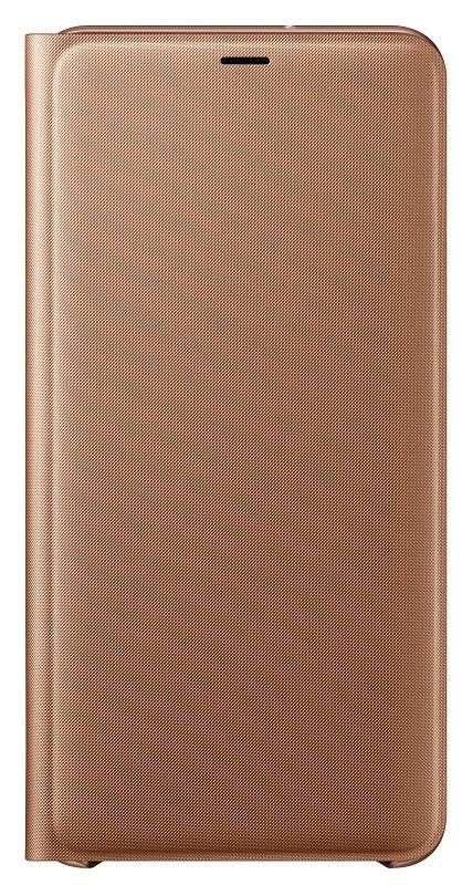 Купить Чехлы для мобильных телефонов, Чехол-книжка Samsung Wallet Cover для Samsung Galaxy A7 2018 (EF-WA750PFEGRU) Gold
