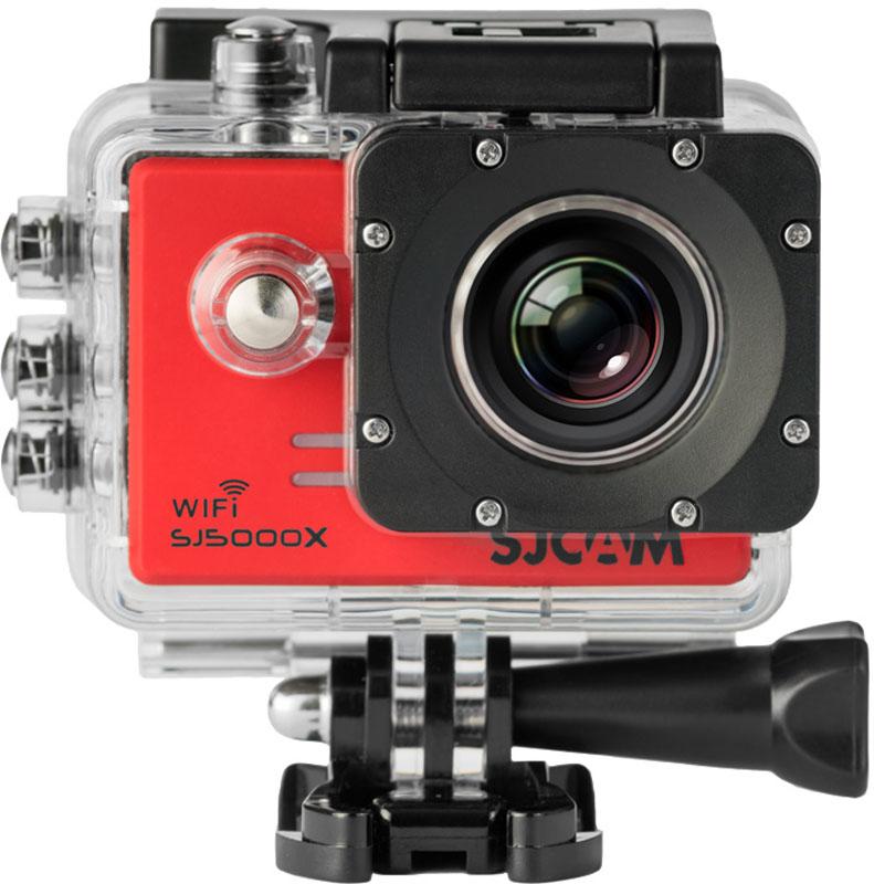 Экшн-камера SJCAM SJ5000X Elite Red  - купить со скидкой