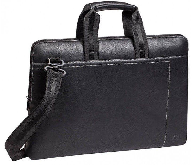 Купить Сумки / чехлы для ноутбуков, Сумка для ноутбука RivaCase 15.6 PU (8930) Black