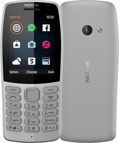 Мобильный телефон Nokia 210 (16OTRD01A03) Grey от Територія твоєї техніки