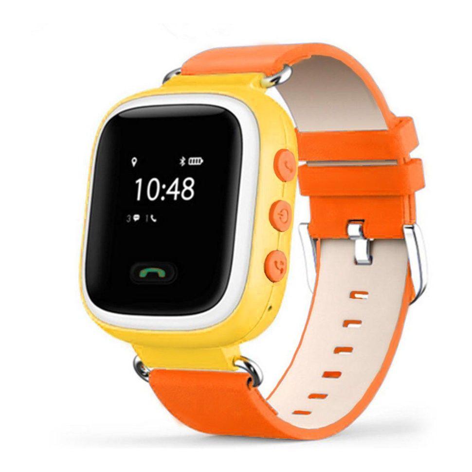 Купить Детские умные часы с GPS-трекером GW900 (Q60) Orange, Smart Baby Watch
