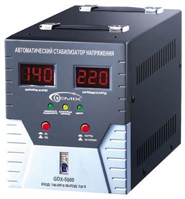 Купить Стабилизаторы напряжения, Стабилизатор напряжения Gemix GDX-5000