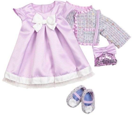Купить Аксессуары для кукол и пупсов, Набор одежды для куклы Our Generation Делюкс Сиреневое настроение (BD30051Z)