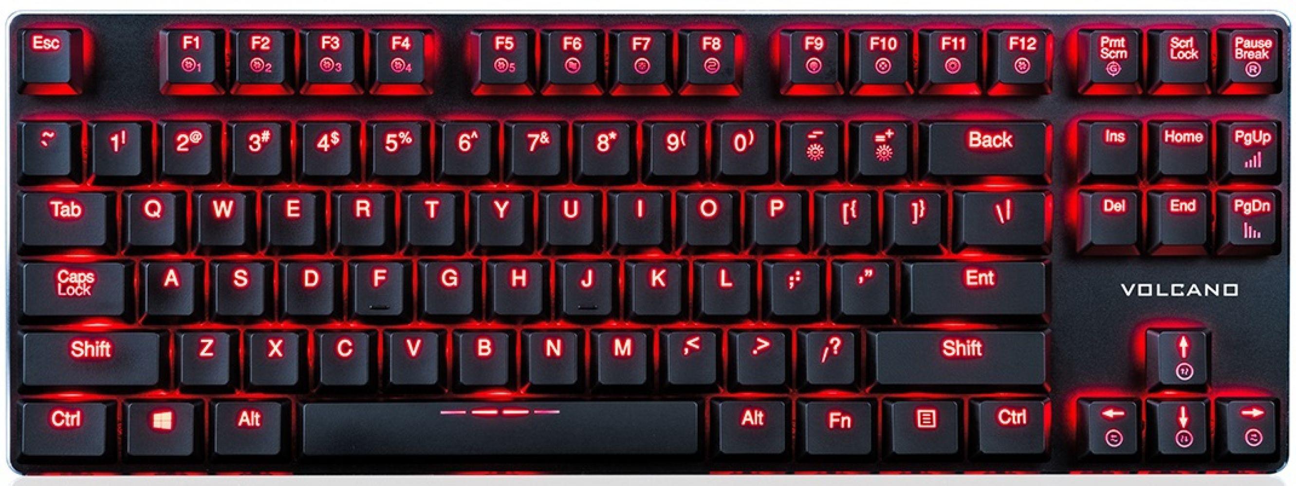 Купить Клавиатура Modecom Volcano Blade Ultra Slim (Kailh PG1350 Low Profile Brown Switch) USB (K-MC-BLADE-BROWN-RU) Black