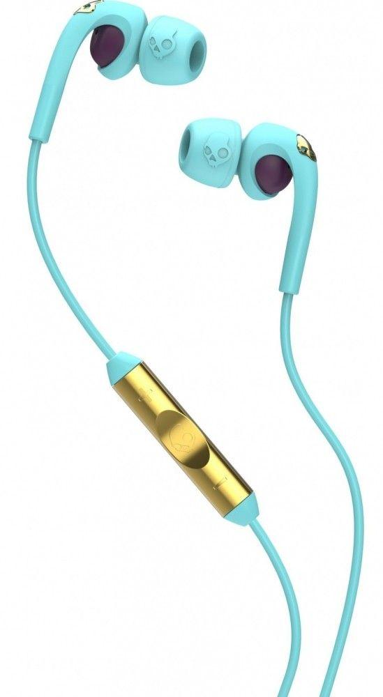 Купить Наушники Skullcandy Bombshell Robin w/mic3 (S2FXGM-396) Robin/Smoked Purple/Gold