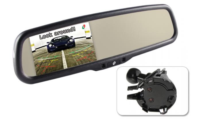 Купить Зеркала заднего вида, Зеркало заднего вида Gazer MM510