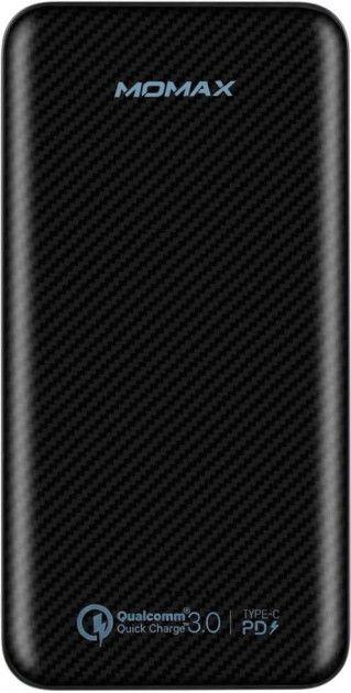 Купить УМБ MOMAX iPower Minimal PD Quick Charge External Battery Pack 10000mAh (IP65D) Black
