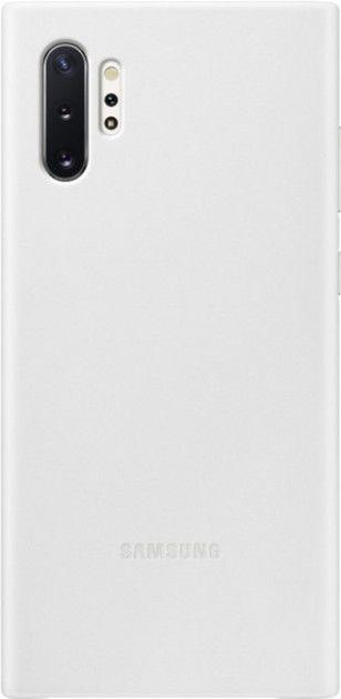 Чехол Samsung Leather Cover для Samsung Galaxy Note 10 Plus (EF-VN975LWEGRU) White от Територія твоєї техніки