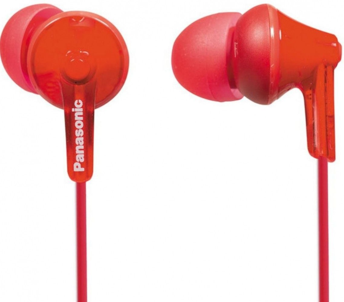 Купить Наушники и гарнитуры, Наушники Panasonic RP-HJE125E-R Red