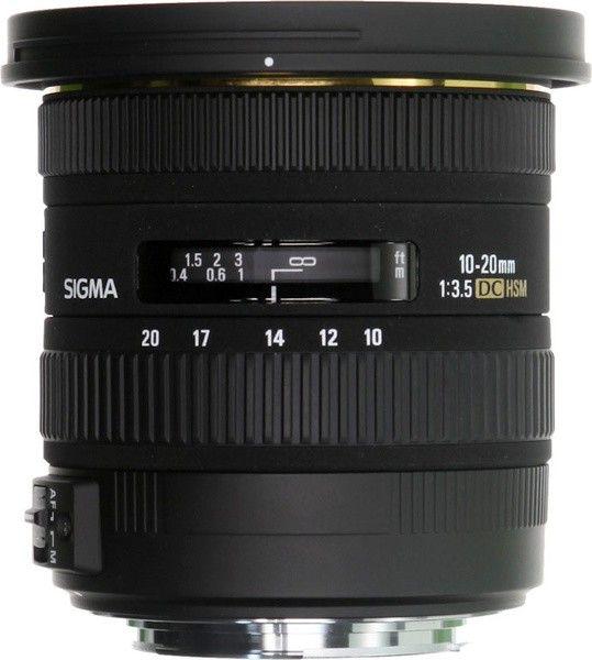 Купить Объектив Sigma 10-20mm/3.5 EX DC HSM Canon (202954)