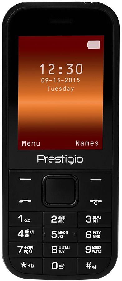Купить Мобильный телефон Prestigio Wize G1 (PFP1243DUOBLACK) Black