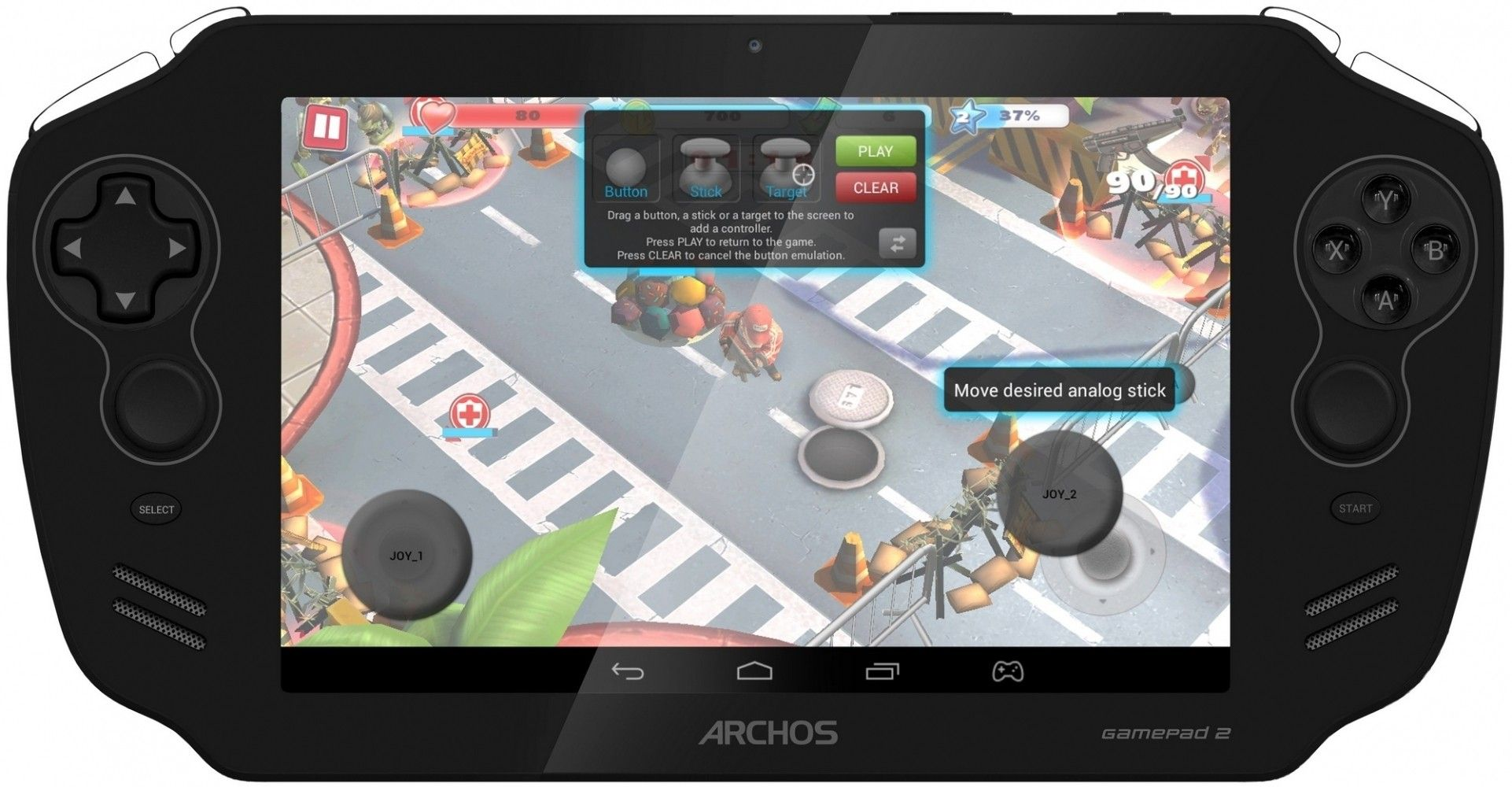 Планшет  Archos GamePad 2 Black - 18359