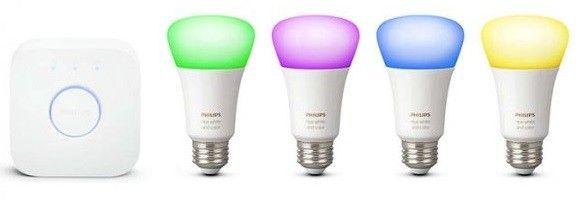 Купить Комплект светодиодных смарт-ламп Philips Hue White Ambiance Color LED 3rd Gen Starter Kit 9W (471960)