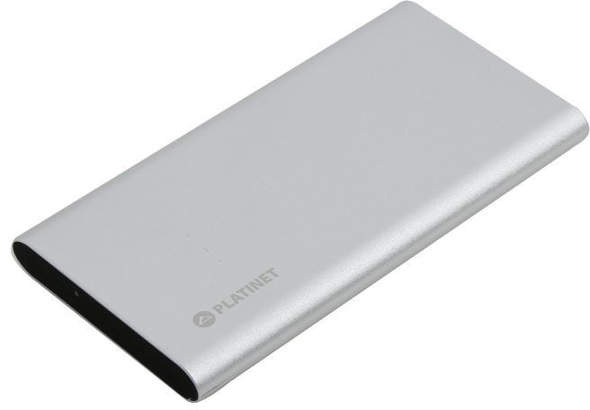 Купить Внешний аккумулятор Platinet 8000 mAh 2xUSB Silver