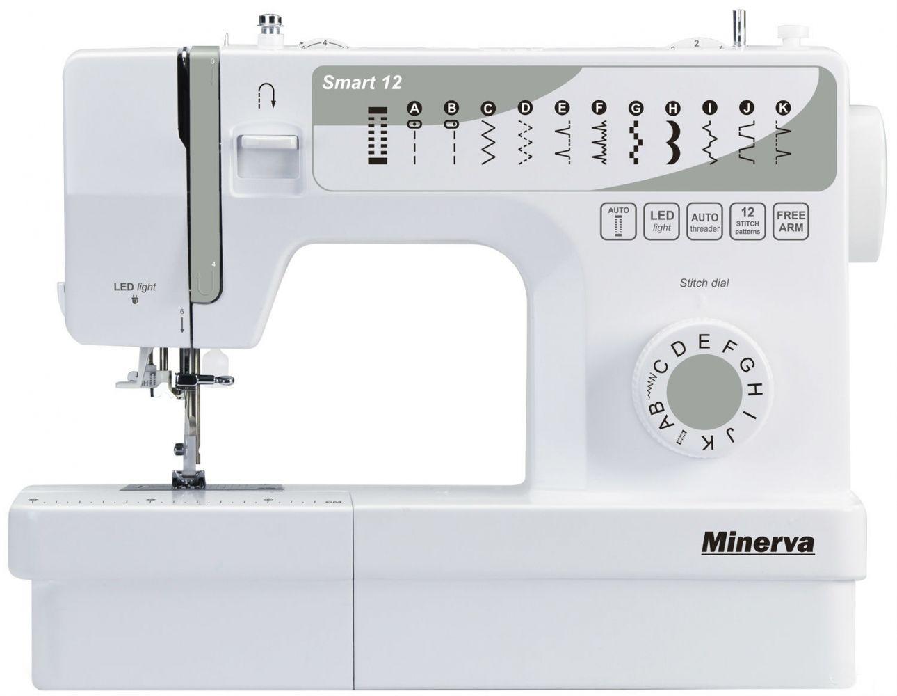 Купить Швейные машинки, Швейная машина Minerva Smart 12