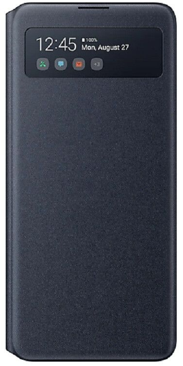 Чехол Samsung S View Wallet Cover Note 10 Lite (EF-EN770PBEGRU) Black от Територія твоєї техніки