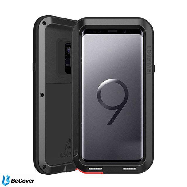 Панель Love Mei Powerful для Samsung Galaxy S9 SM-G960 (BC_703131) Black от Територія твоєї техніки