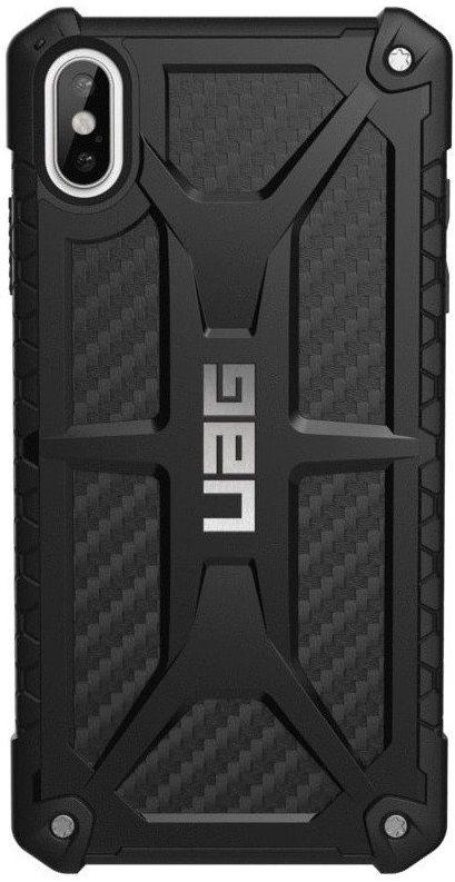 Панель Urban Armor Gear Monarch для Apple iPhone Xs Max (111101114242) Carbon Fiber от Територія твоєї техніки