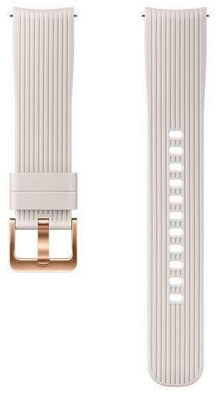 Купить Аксессуары для смарт-часов и смарт-браслетов, Ремешок Samsung для Galaxy Watch 42 mm (ET-YSU81MSEGRU) Silver