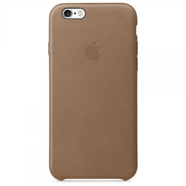 Чехол для Apple iPhone 6s Leather Case Brown (MKXR2ZM/A) - 27872