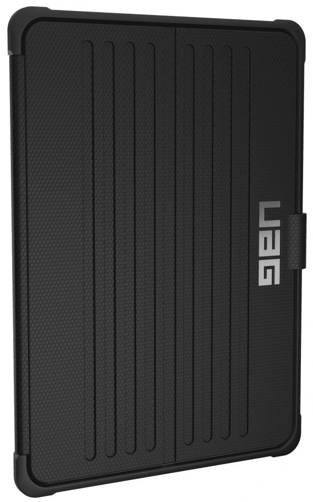 Купить Чехлы для планшетов, Обложка Urban Armor Gear для Apple iPad 2017/2018 9.7 (IPD17-E-BK) Metropolis Black/Silver Logo, Urban Armor Gear (UAG)